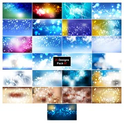 25 Bokeh Defocused Lights Background 07