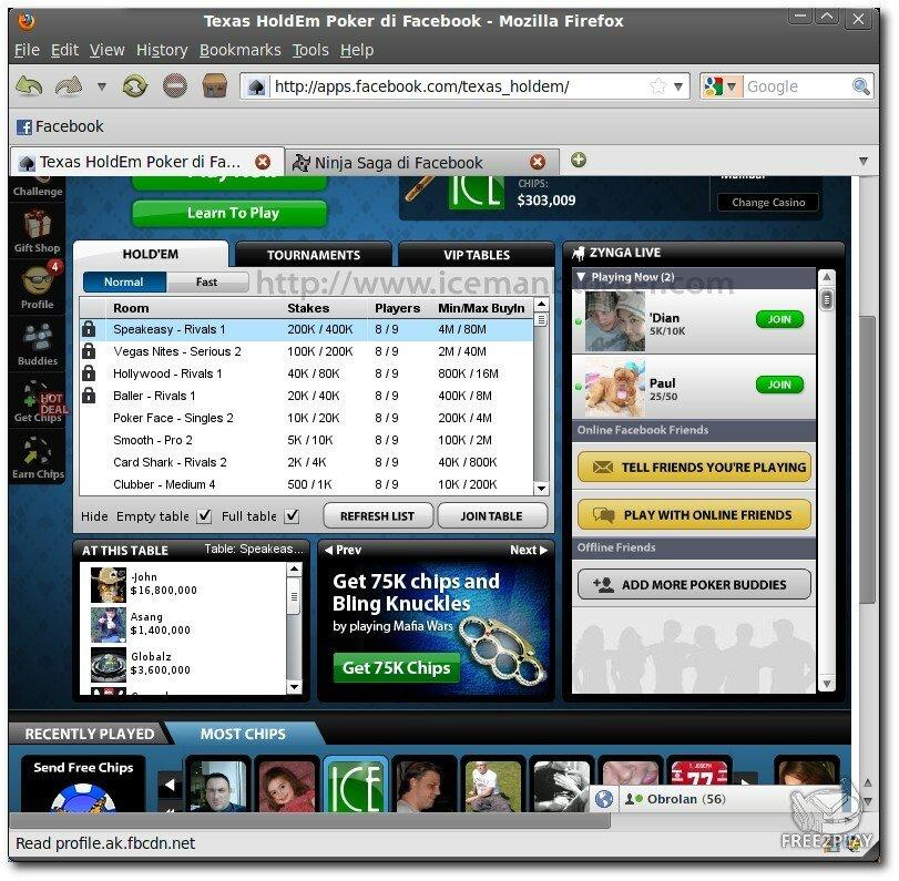 Texas Holdem Zynga Poker Online - SSB Shop