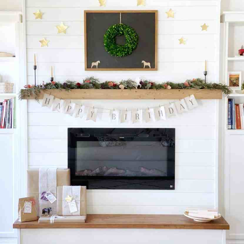DIY: Electric Fireplace with Built-In Bookshelves - Free ...