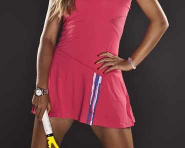 Azarenka Pink Tennis Dress