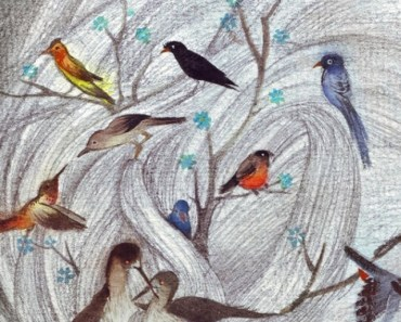 Birds and Trees Sketch