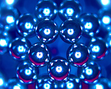 Glossy Molecular Structure