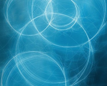 Blue Abstract Circles