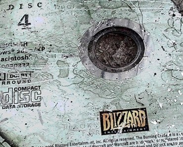 Broken World Of Warcraft CD