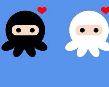 Cartoon Octopus Lovers