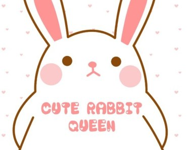 Cute Rabbit Queen