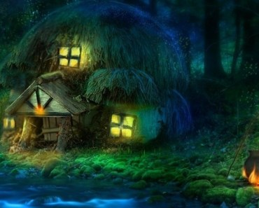 Fantasy Thatched Cottage