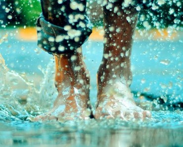 Jumping In A Rain Puddle