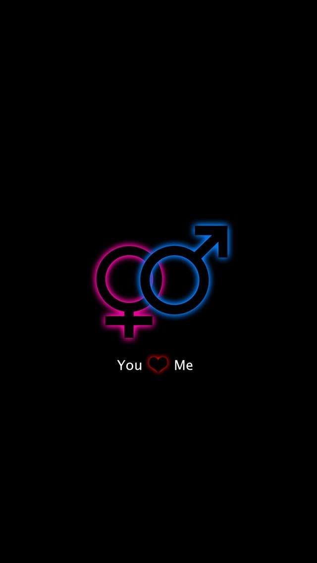 Linked Gender Symbols Iphone 6 6 Plus And Iphone 54 Wallpapers