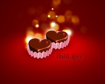 Love Cup Cake