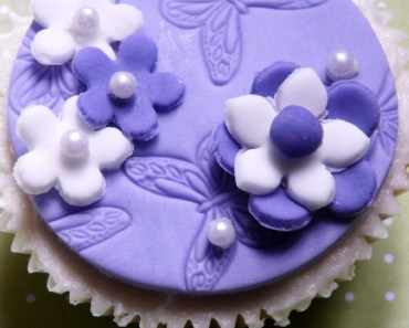Purple Butterfly Cakes