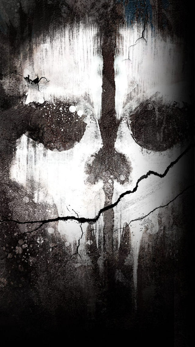 Call of duty ghosts skull iphone 6 6 plus and iphone 5 - Call of duty ghost wallpaper hd iphone 5 ...