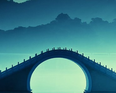 Chinese Arch Bridge Art
