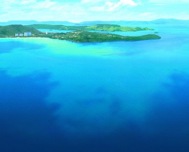 Beautiful Island Surrounded By The Sea