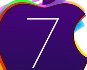 Colored iOS 7 Apple Logo