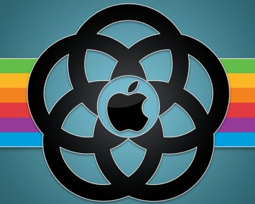 Creative Dark Apple Logo