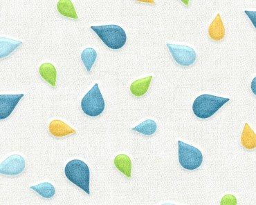 Fabric Water Drop Patterns