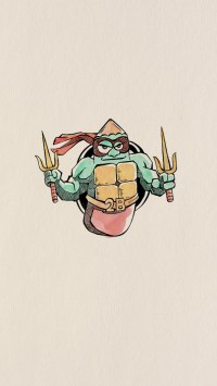 Funny Pencil Drawing Teenage Mutant Ninja Turtles