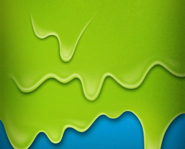 Green and Blue Painting