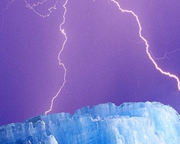 Icebergs and Lightning