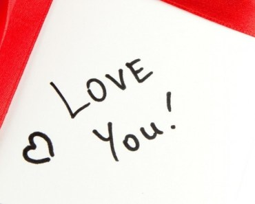 Love You Postcard