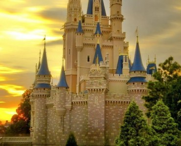 Cinderella Castle Twilight