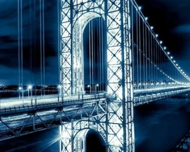 George Washington Bridge Night