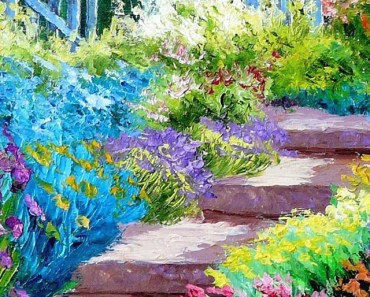 Beautiful Garden Illustration
