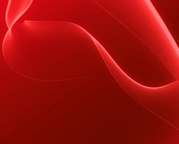 Red Abstract Silk