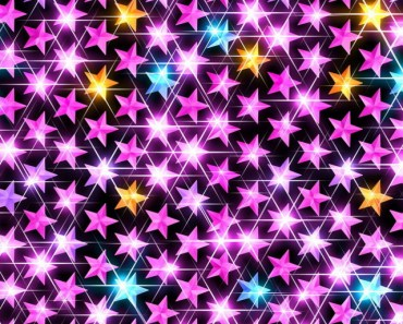 Shiny Star Pattern