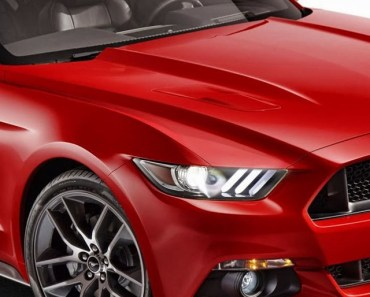 2015 Ford Mustang Red
