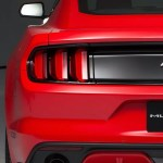 Ford Mustang 2015 Back View
