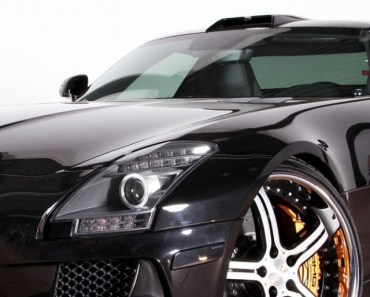 Mercedes Benz SLS Black