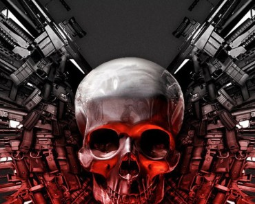 Skull and Weapons