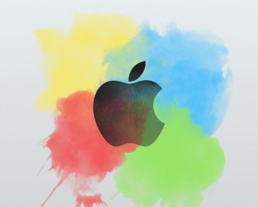 Apple Logo with Color Splash
