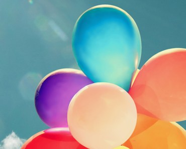 Colorful Balloons In The Sun