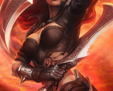 League of Legends Katarina Art