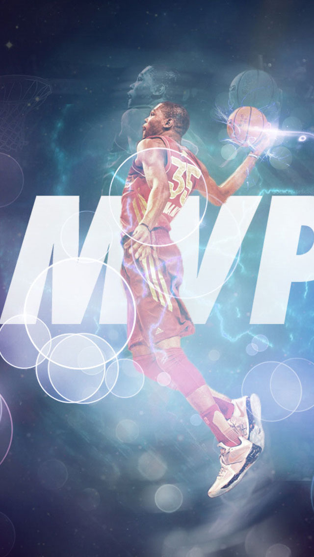 Kevin Durant MVP IPhone 6 Plus And 5 4 Wallpapers