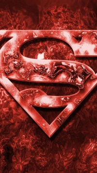 Blood Superman Logo
