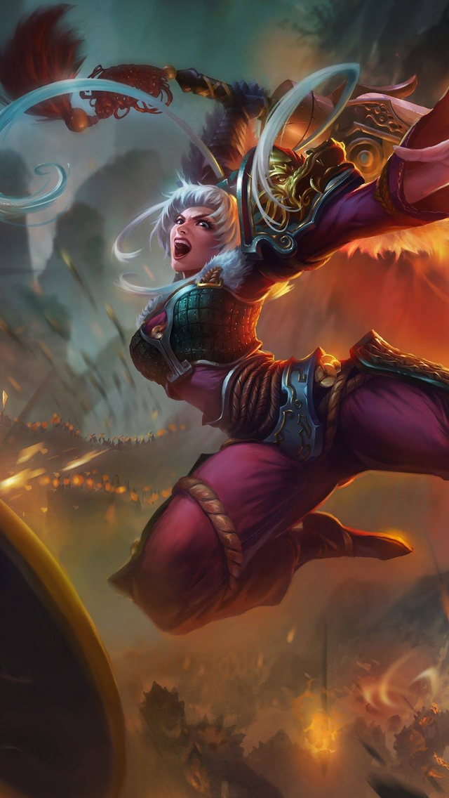 Dragonblade Riven Iphone 6 Plus And 5 4 Wallpapers