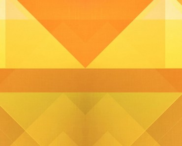 Abstract Orange Triangles