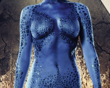 Jennifer Lawrence Mystique In X-Men Days of Future Past