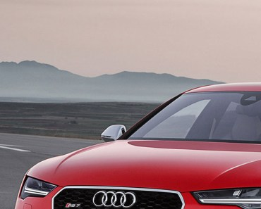 2014 Audi RS7 Red
