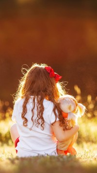 Little-Girl-with-A-DolL