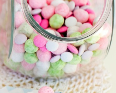 Colorful Heart Candies