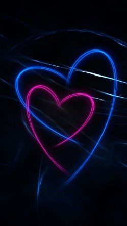 Red & Blue Heart Lines