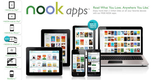Nook Free eReader For PC, MAC, iPad, Android