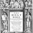 The Holy Bible – King James Version KJV The Authorized Version, commonly known as the King James Version, King James Bible or KJV, is an English translation of the Christian […]