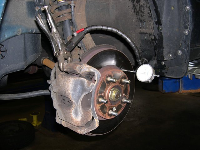How To Check Front Brake Rotors Freeautomechanic