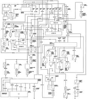 1981 Honda Accord Engine Wiring Diagram  FreeAutoMechanic